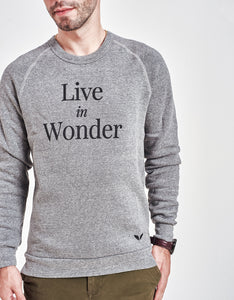 Unisex Live in Wonder Sweater