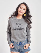 Load image into Gallery viewer, Unisex Live in Wonder Sweater