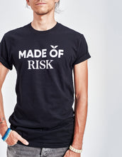 Load image into Gallery viewer, Unisex Made of Risk Tee