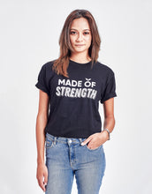 Load image into Gallery viewer, Unisex Made of Strength Tee