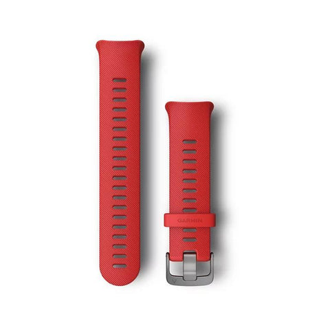 Garmin Forerunner 45 Replacement Band, Lava Red