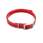"Garmin 3/4"" Square Buckle Collar Strap - Red"