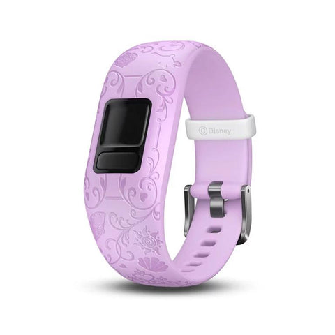Garmin Accy Bands (Strap Only), vivofit jr2, Adjustable, Princess, Purple