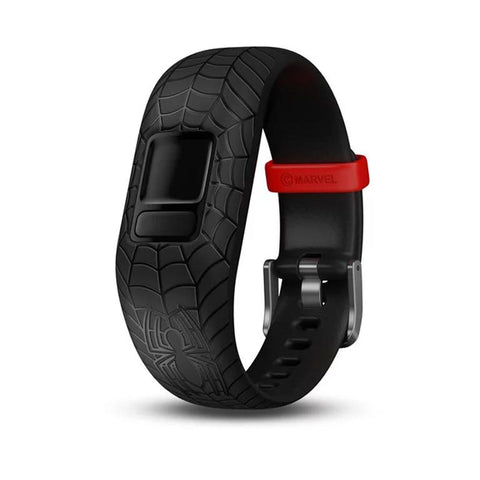 Garmin Accy Bands (Strap Only), vivofit jr2, Adjustable, Spider-Man, Black