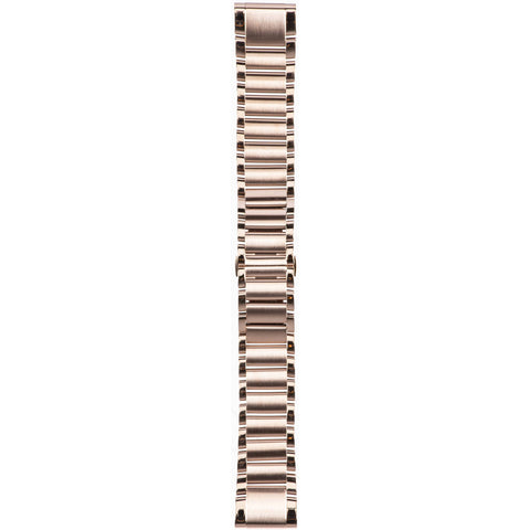 Garmin QuickFit 20mm Rosegold Tone Stainless Steel
