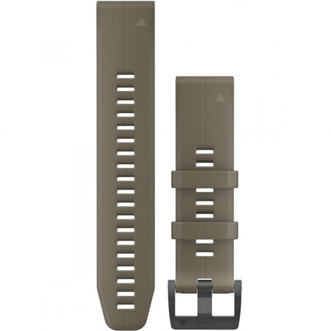 Garmin QuickFit 22mm Coyote Tan Silicone Band