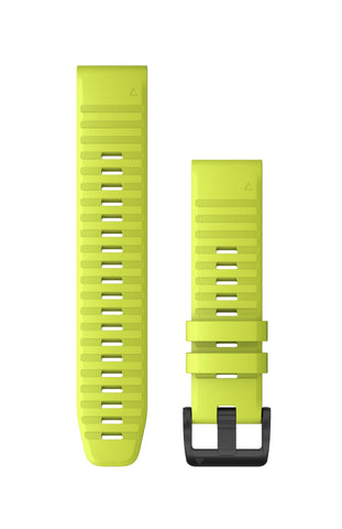 Garmin QuickFit 22 Amp Yellow Silicone