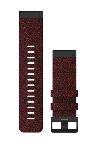Garmin Fenix 3 Strap Heathered Red Nylon (QuickFit 26)
