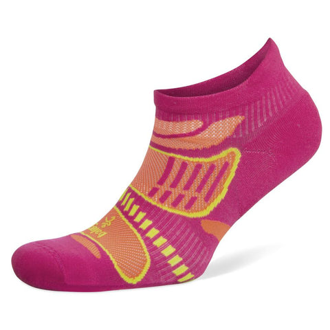 Balega Ultralight No Show Socks, Electric Pink