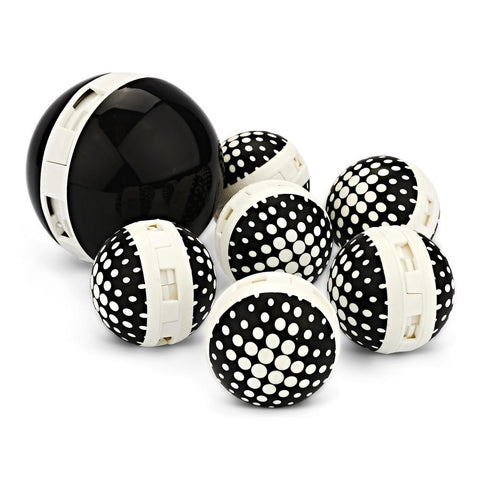 Sneaker Balls 7-Pack Black & White