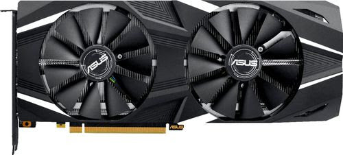 ASUS - NVIDIA GeForce RTX 2080 OC Edition 8GB GDDR6 PCI Express 3.0 Graphics Card - Black/White