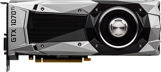 NVIDIA - GeForce GTX 1070 Ti Founders Edition 8GB GDDR5