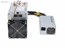 Load image into Gallery viewer, 10000 Antminer D3 (19.3Gh) from Bitmain mining X11 algorithm with a maximum hashrate of 19.3Gh/s for a power consumption of 1350W with 1 year of hosting included and upgrade or exchange option included.