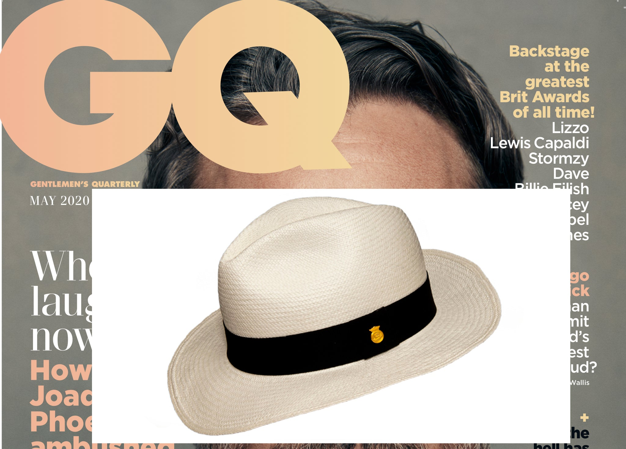BRITISH GQ MAGAZINE, MAY ISSUE 2020