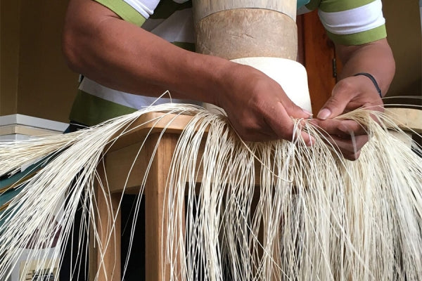How a Panama Hat (Montecristi) is made by La Marqueza Hats