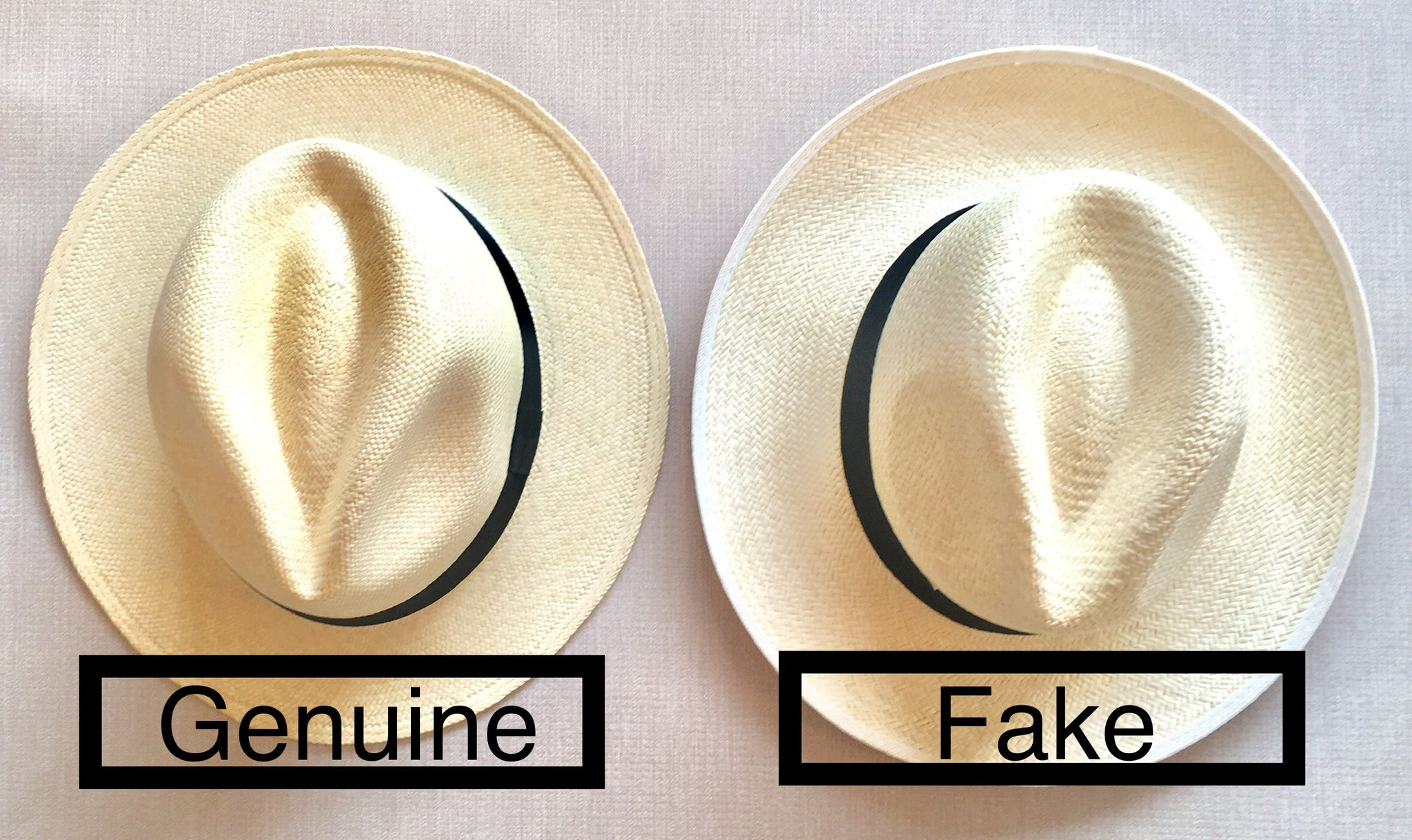 How to spot a fake Panama Hat?