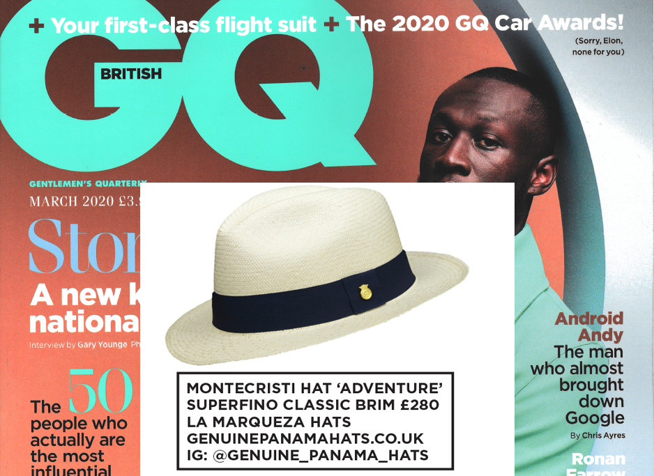 AS SEEN IN BRITISH GQ, SPECIAL SUBSCRIBERS' EDITION MARCH ISSUE 2020