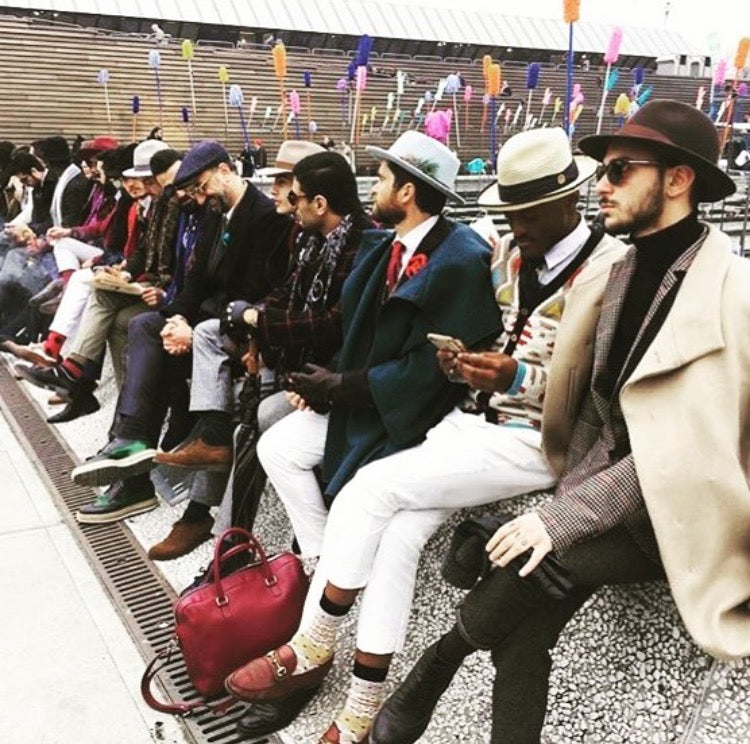 La Marqueza Hats at Pitti Uomo Florence Italy