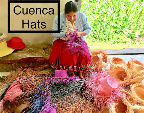 Panama Hats made in Cuenca Ecuador