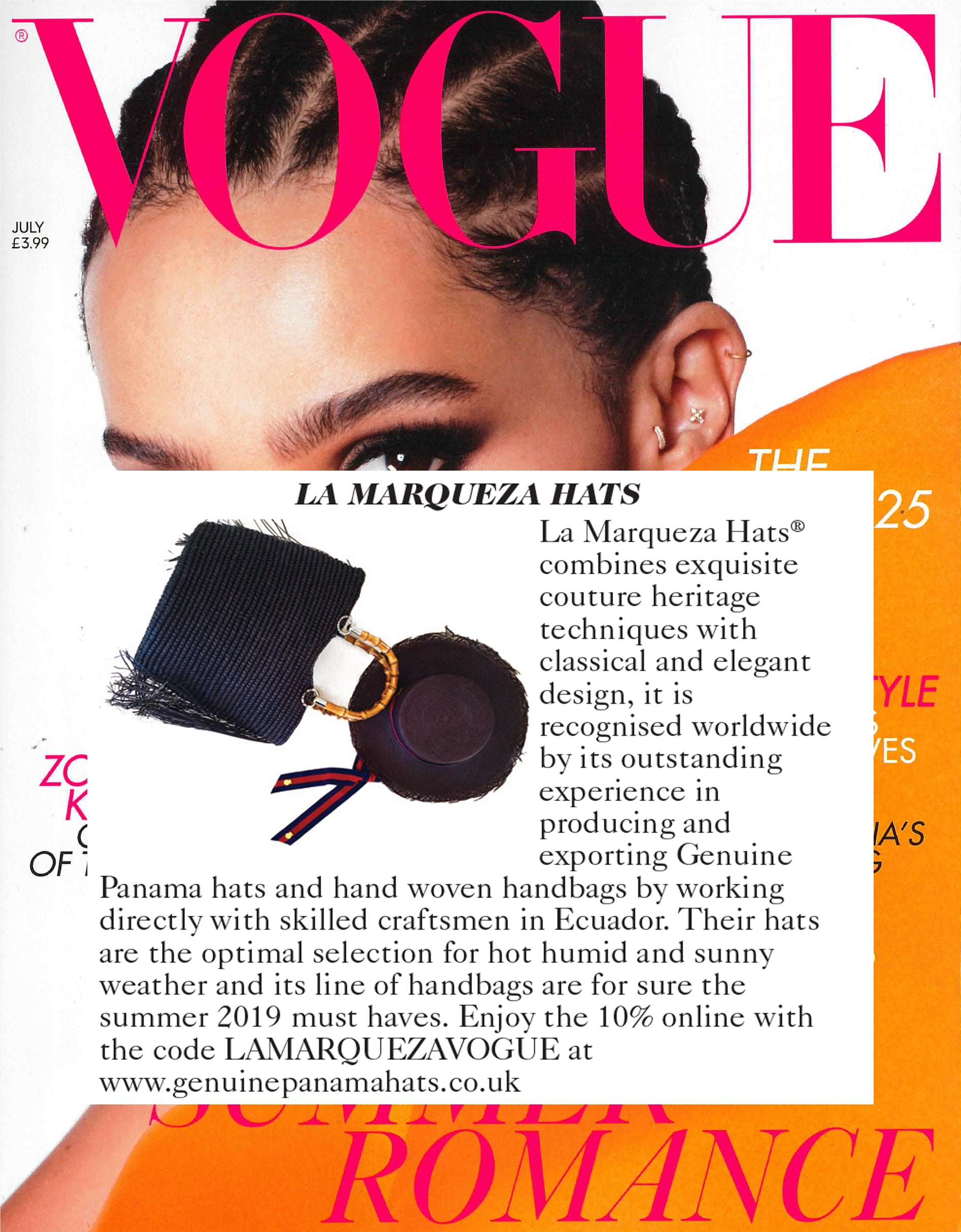 Best Packable Panama Hats in UK Vogue featured
