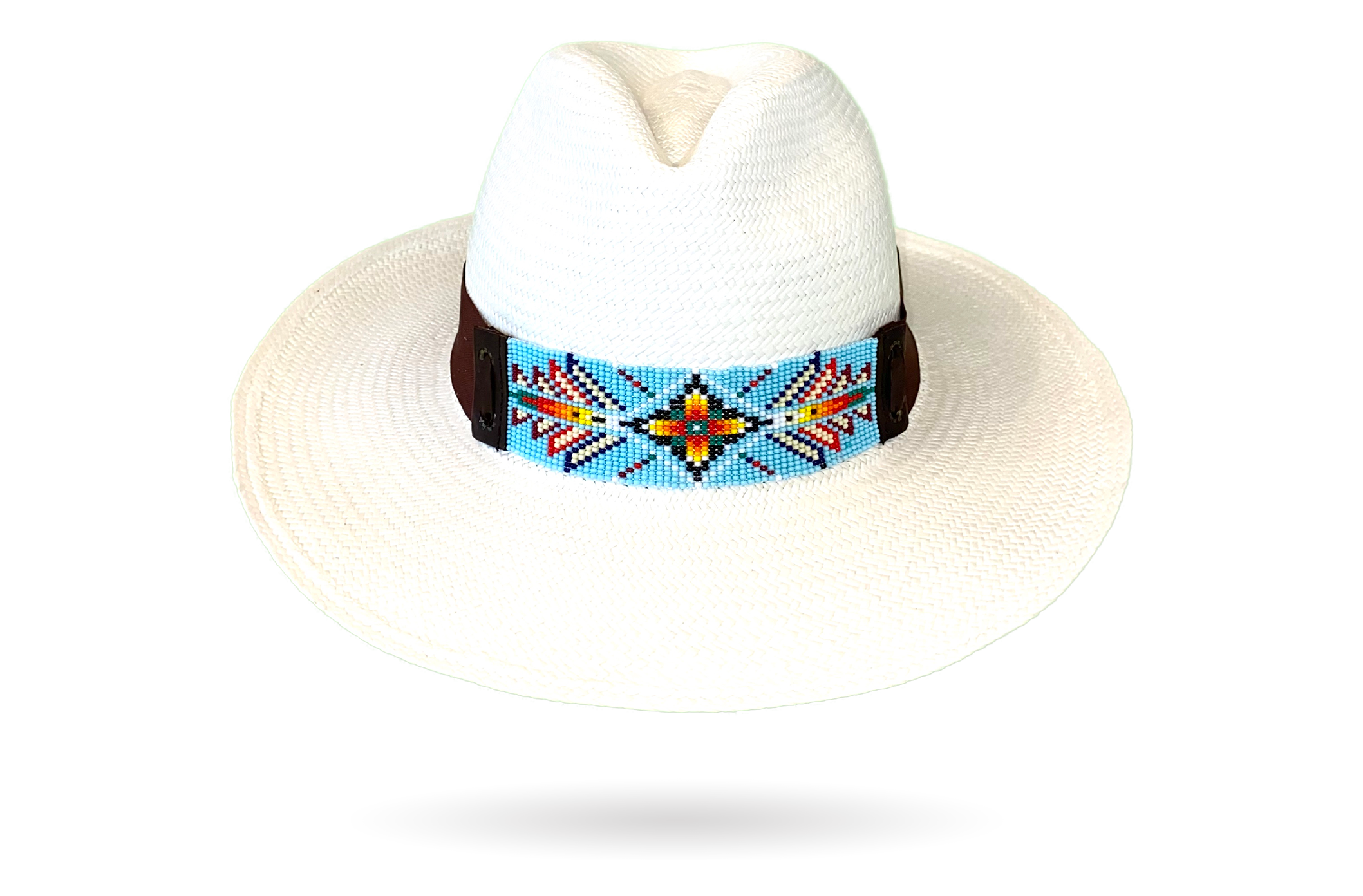 Panama Hat womens fedora white
