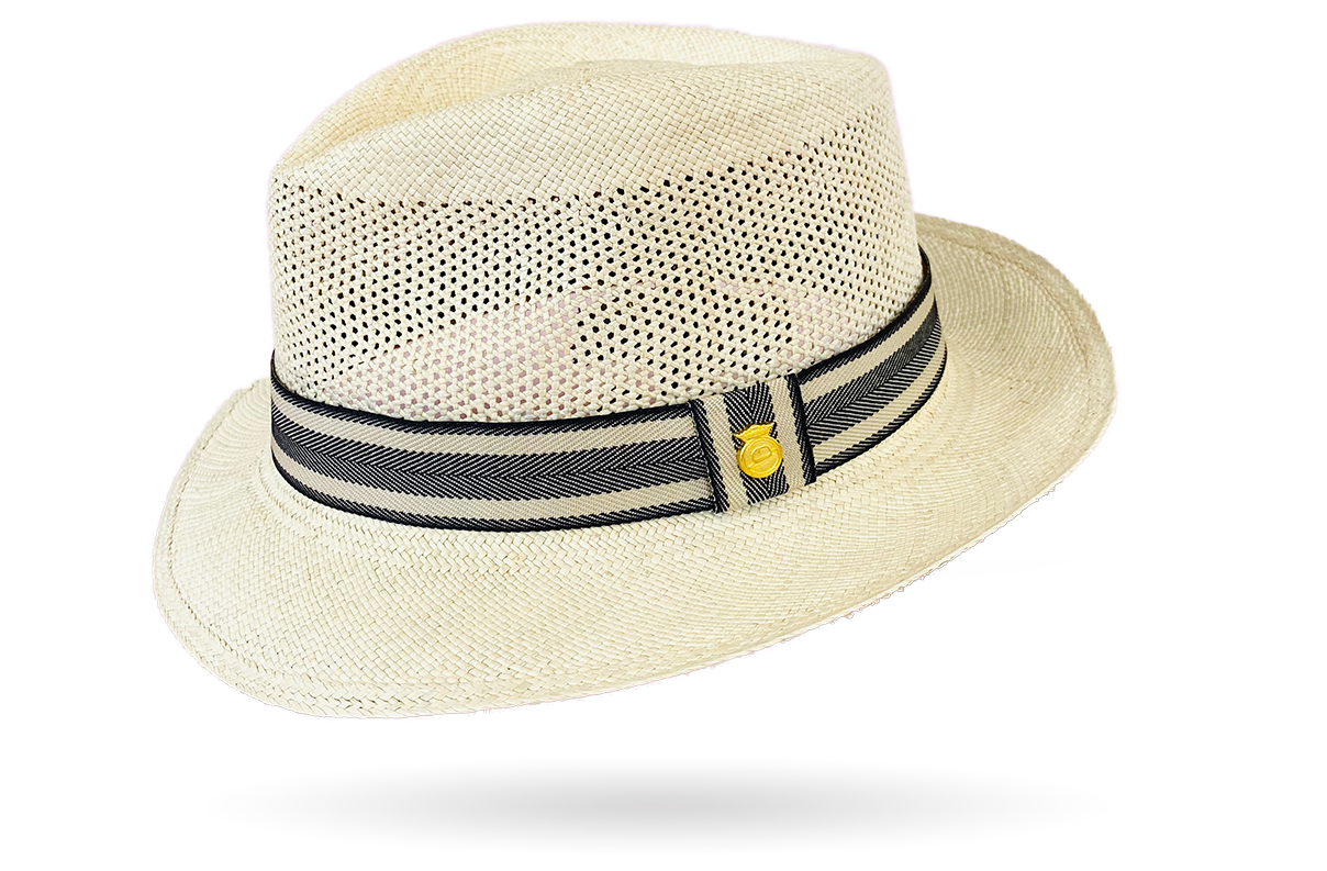 Panama Hat stripped band