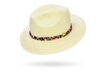 Beaded Panama Hat by La Marqueza Hats