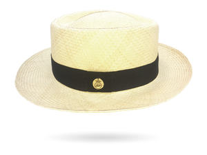 Porkpie Panama Hat men's Gambler