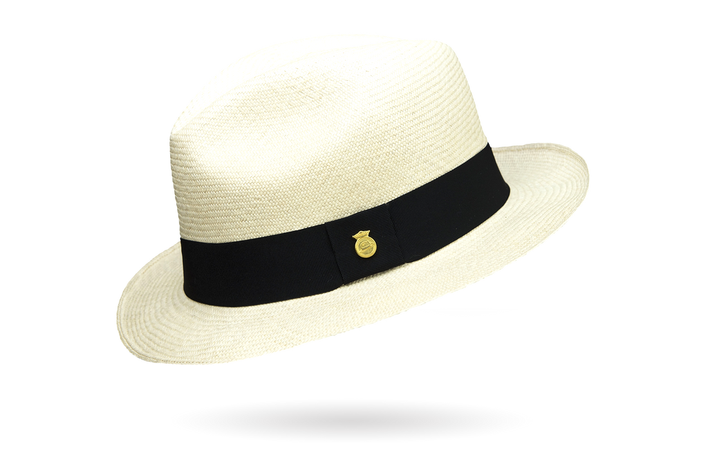 packable travelling brentblack Extrafino Classic Panama Hat by La Marqueza Hats