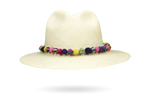 Panama Hat straw beaded