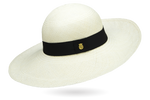 Wide brim panama hat women