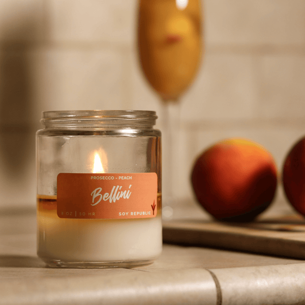 Soy Republic - Bellini - Cocktail Candle