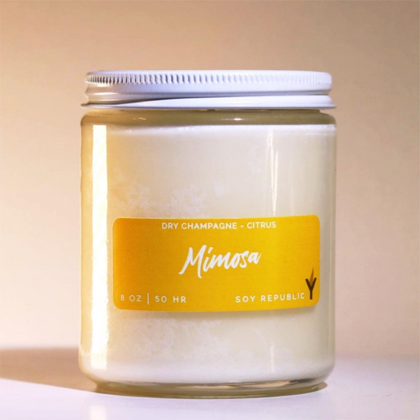 Soy Republic - Mimosa - Cocktail Candle