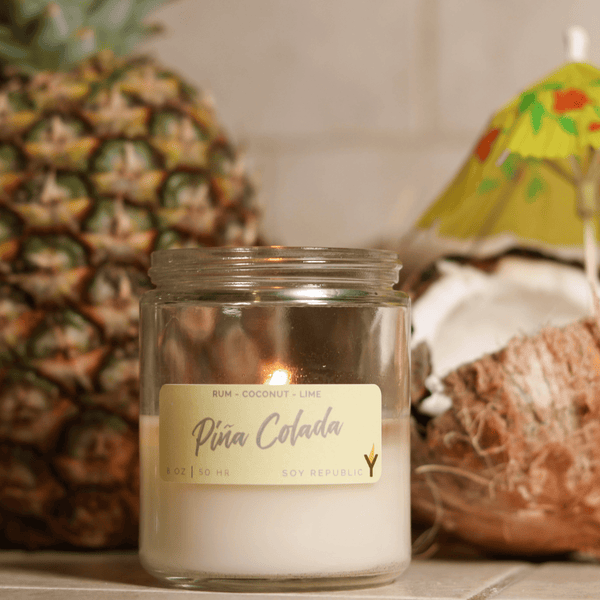 Soy Republic - Piña Colada - Cocktail Candle