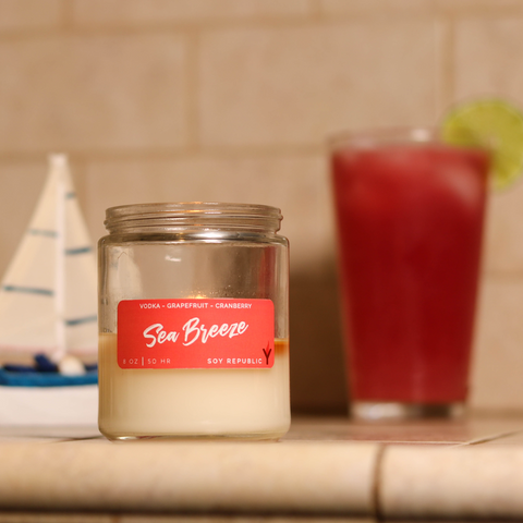 Soy Republic - Sea Breeze - Cocktail Candle