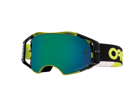 MASQUE OAKLEY Airbrake Factory Pilot Thumb Green écran Prizm MX Black