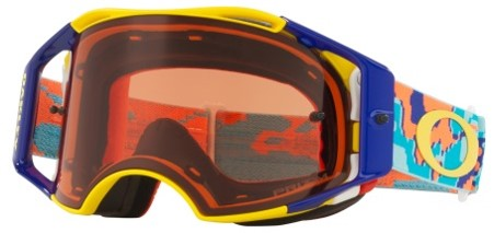 MASQUE OAKLEY  Airbrake Thermo Camo Yellow/Blue écran Prizm MX Bronze