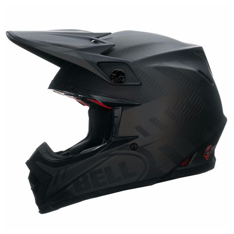 Casque BELL Moto-9 Flex Matte Syndrome Black