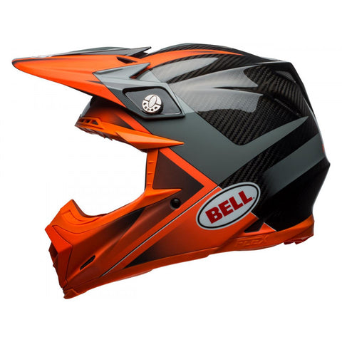 Casque BELL Moto-9 Flex Gloss/Matte Orange/Charcoal Hound