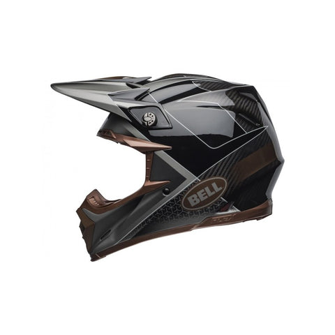 Casque BELL Moto-9 Flex Hound Matte/Gloss Black/Bronze
