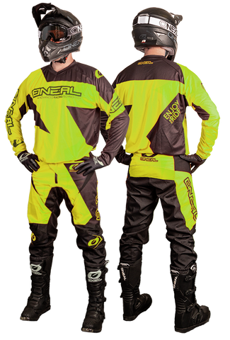 Tenue Oneal Matrix Neon Jaune