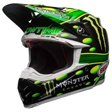 Casque BELL Moto-9 Flex MC Monster Replica 18.0 Gloss
