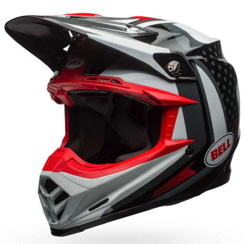 Casque BELL Moto-9 Flex Vice Black/White