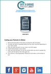 BOSS BHT-3 Remote Coding Instruction