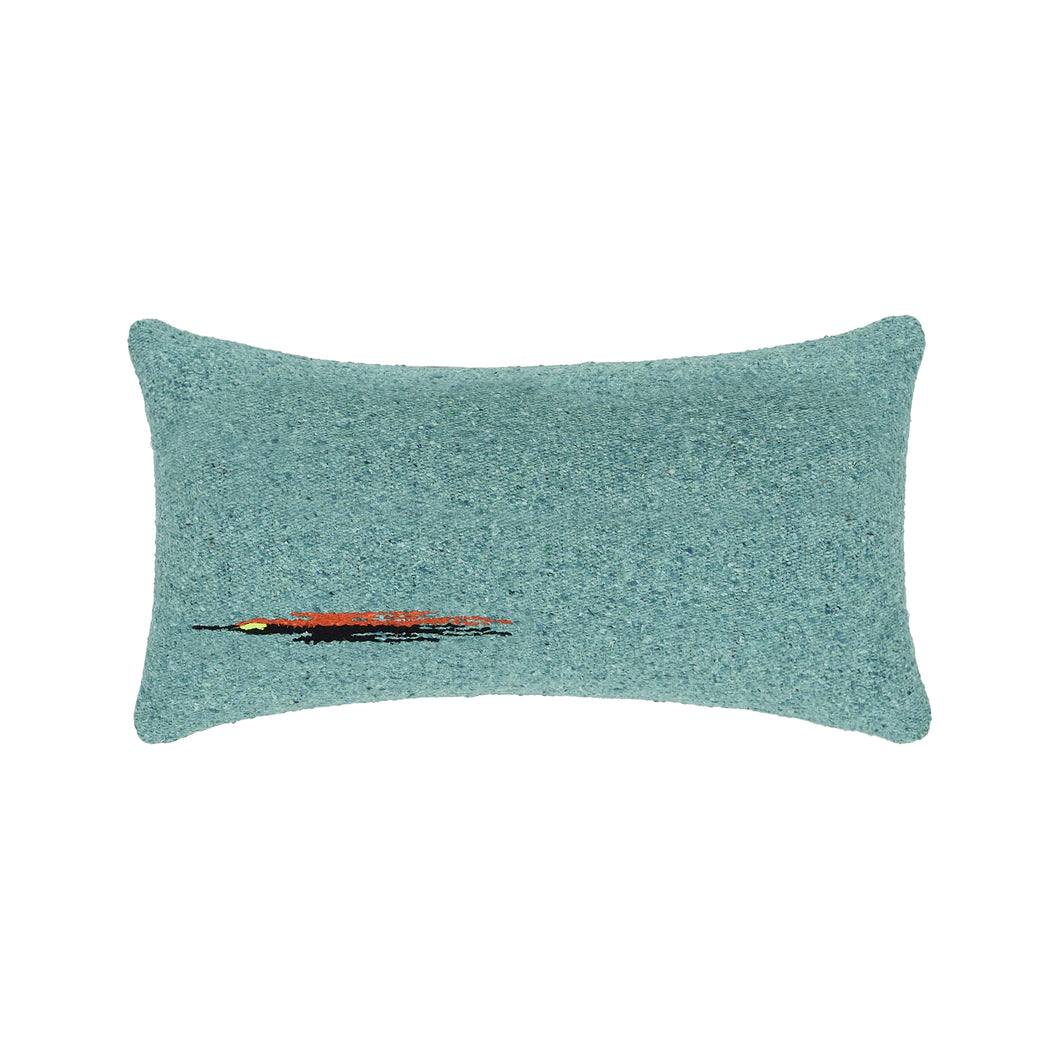 Nisa Pillow in Turquoise