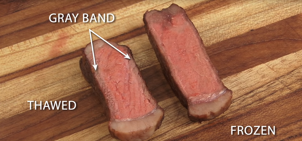 Experiment: Cooking Frozen Steak