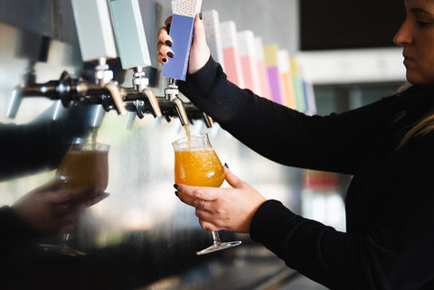 Annex Ale Project's Imposter Syndrome straight from the tap