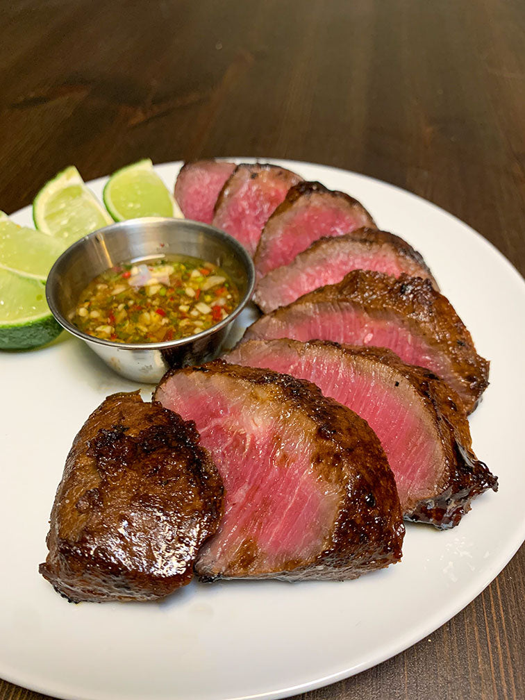 Grilled Fermented Flat Iron Steak