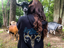 Load image into Gallery viewer, OG Antler Ice Black Pull Over Hoodies
