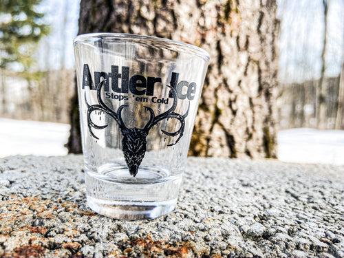 Antler Ice Shot Glass